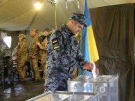 На Донбасі військові майже однаково підтримали Зеленського і Порошенка