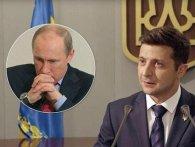 «Не слід говорити з Україною і українцями мовою загроз», - Зеленський відповів Путіну