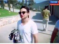 Провокація: російські пропагандисти вистежили Зеленського біля готелю в Туреччині (відео)