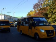 Транспортний колапс: у Полтаві третій день не їздять маршрутки (відео)