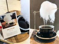 У Китаї подають каву, в яку падає «солодкий дощ» із цукрової «хмари»