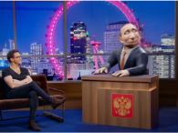 У Великобританії запускають шоу із мультяшним  Путіним (відео)