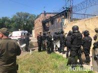 В Одесі в колонії ув'язнені підняли бунт (відео)