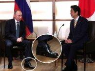 «Наполеон»: Путіну скорчило ногу через високі каблуки (відео)