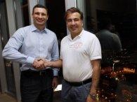 Кличко кличе Саакашвілі очолити УДАР на дострокових виборах (відео)
