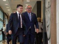 Зеленський пошуткував у Брюсселі, що він кращий за Порошенка (відео)