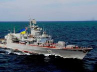 Українські військові відпустили російський корабель, який зайшов у територіальні води (фото)