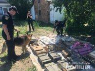 Мешканець Рівненщини закопав на городі рекордний арсенал (фото, відео)
