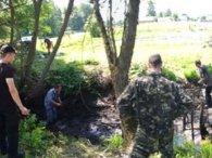На Житомирщині в річці знайшли кістки дитини