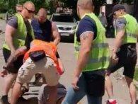 Страйк адвокатів Київщини: проти «тітушок» у поліцейській формі