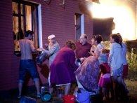 «Не Нотр-Дам»: під Києвом згорів будинок, де знімали серіал «Свати» (фото)