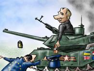 Зрадницьке рішення ПАРЄ щодо України обсміяли влучною карикатурою