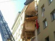 У Відні через обвал п'ятиповерхового будинку постраждали перехожі (відео)