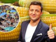«З'їмо її разом»: на морі продають ЗЕ!кукурудзу (фото)