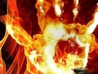 90% опіків: співмешканець підпалив жінку (відео)