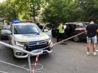 У Києві троє невідомих зі стріляниною вкрали у чоловіка понад мільйон гривень (відео)