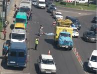 Летальна ДТП: у Луцьку під колесами «аварійки» загинув велосипедист (фото 18+)