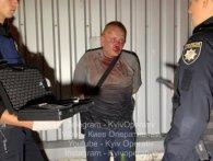 У Києві п'яний водій потовк 5 авто і кидався з ножем на перехожих (відео)
