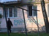 Лучанин мало не згорів живцем через броньовані двері квартири (фото)