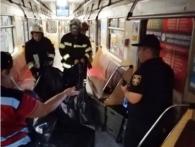 В київському метро смертельна НП: перекрили чотири станції (фото)