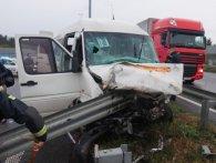 Під Києвом моторошна ДТП з участю маршрутки: троє загиблих, 18 травмованих (фото)