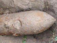 На Волині знайшли дві 100-кілограмові бомби