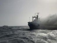 Моряки пішли на дно: що відомо про пожежу на українському траулері