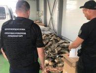 «Норкова шубка»: через «Ягодин» намагалися ввезти 200 звірячих шкур (фото, відео)