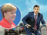 Меркель дивиться  «Слугу народу», щоб вивчити Зеленського