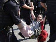 Протести у Москві: суди заарештували 40 осіб