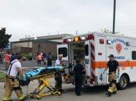 Стрілянина у супермаркеті: двоє вбитих, двоє поранених (відео)