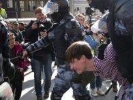 Протести у Москві: кількість затриманих – понад 800
