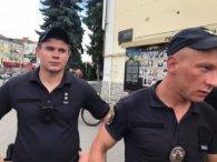У центрі Луцька почубилися патрульні і ветерани «Айдару»: всі подробиці (фото)