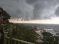 Одесу паралізував сильний шторм (відео)