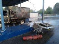 У Запоріжжі людина постраждала через вибух авто на заправці