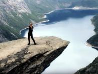 Український скрипаль зіграв на Язиці Троля у Норвегії (відео)