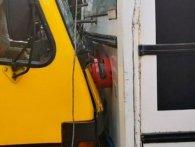 У Луцьку тролейбус зіштовхнувся з маршруткою