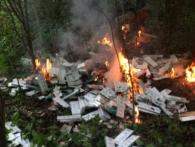«Гори-гори ясно»: на Волині контрабандисти запалили «ватру» із тисяч пачок сигарет (відео)