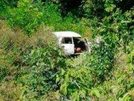 На Волині п'яний водій злетів у кювет (фото)