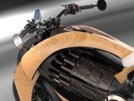 Оригінали: у Франції створили дерев'яний електромотоцикл (фото)