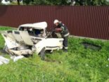 На трасі Львів-Луцьк фура зім'яла «Жигулі» з сім'єю: дитина загинула (фото)