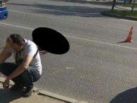 На Львівщині авто збило чоловіка з двома малолітніми дітьми