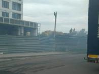 У Луцьку новобудова і «Нова Лінія» могли піти з димом через «бездумний підпал» (фото)