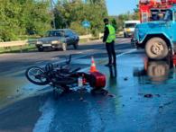 ДТП під Луцьком: після зіткнення з легковиком мотоцикліст у важкому стані (фото)
