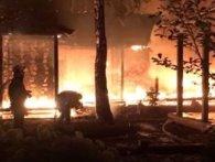 Згарище у Гореничах: охоронець Гонтарєвої розповів, як спалили її нерухомість (відео)