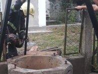 На Рівненщині кота рятували з 10-метрового колодязя