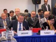 Українська делегація в ОБСЄ залишила зал засідань через «російський Крим»