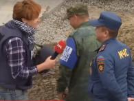 «Вам не страшно?»: у Станиці Луганській «борзі» бойовики погрожують Україні (відео)